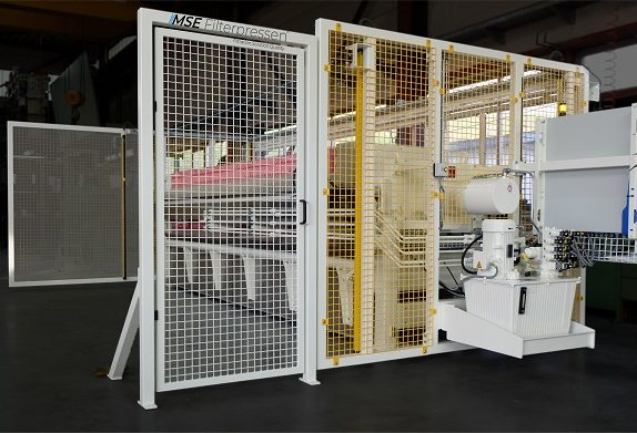 MONITORED SAFETY DOOR - filter presses