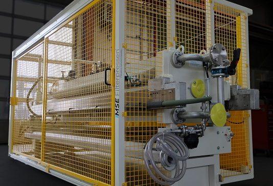 MONITORED SLIDING DOOR - chamber filter press