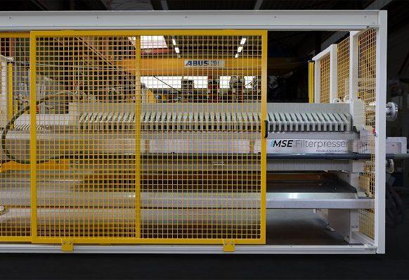 MONITORED SLIDING DOOR - filter presses