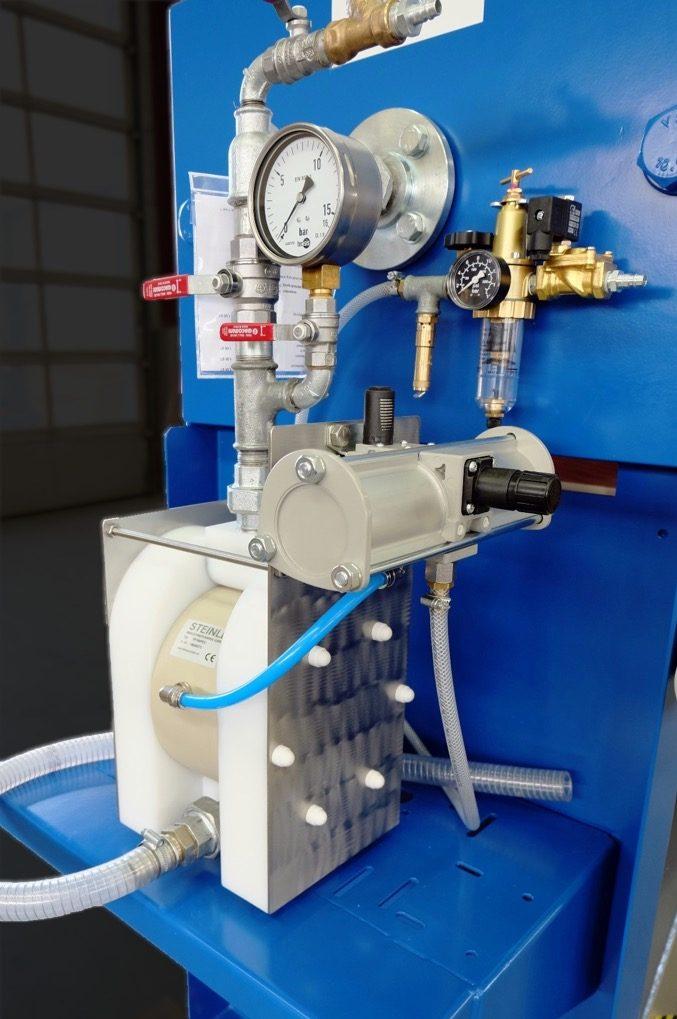 Pneumatic diaphragm pump feeding pump for filter press