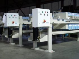 chamber filter presses - size 630x630mm