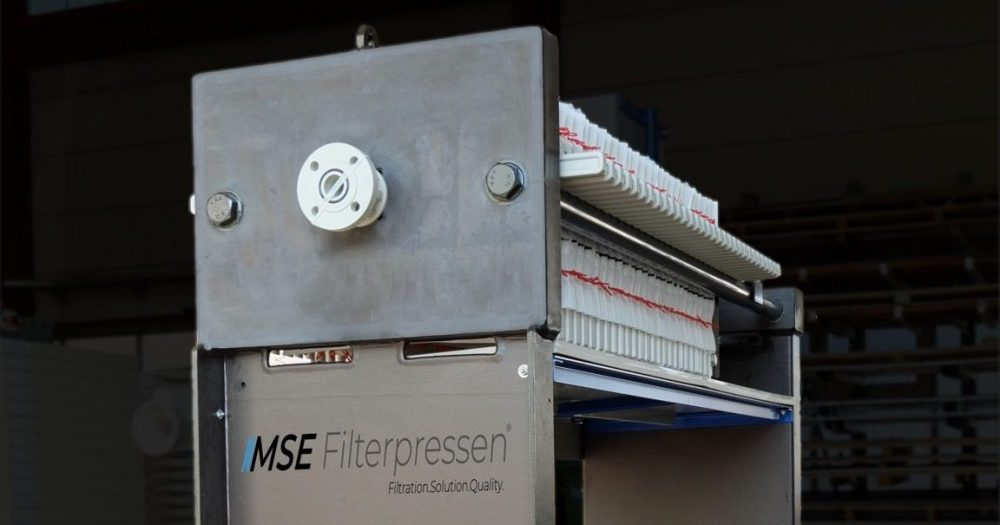 corrosion protection for filter presses - rubberised filter press 470x470mm