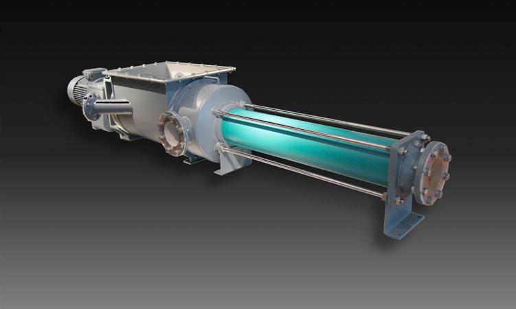 eccentric screw pump for filter press