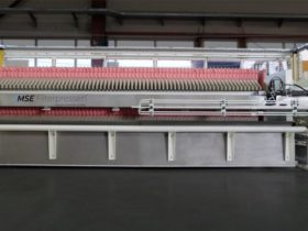 fully automatic filter press - incl. safety doors - size 800x800mm