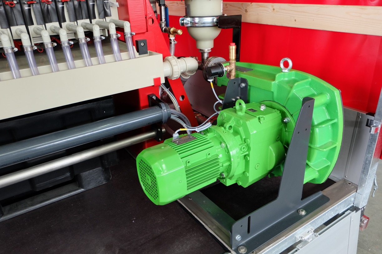 hose pump feeding pump for filter press