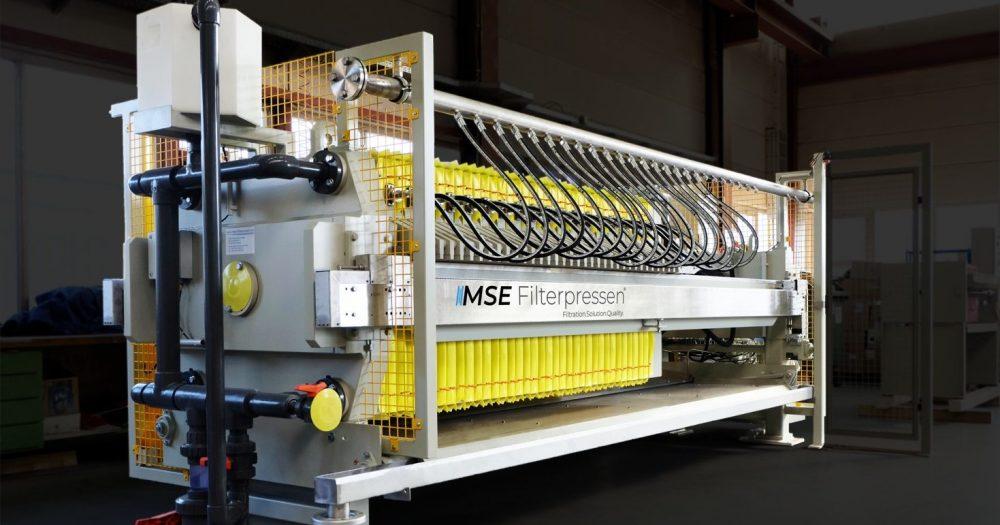 Membrane filter press - MSE Filterpressen® (OEM)
