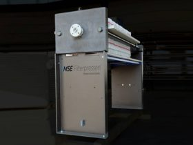 rubberised filter press - hightened - size 470x470mm