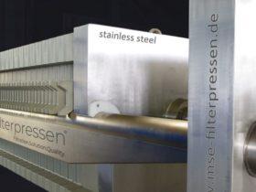 stainless steel filter press - destination pharmaceuticals