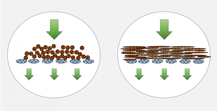 FILTRATION BEHAVIOUR OF PARTICLES