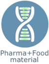 Application pharma Food material