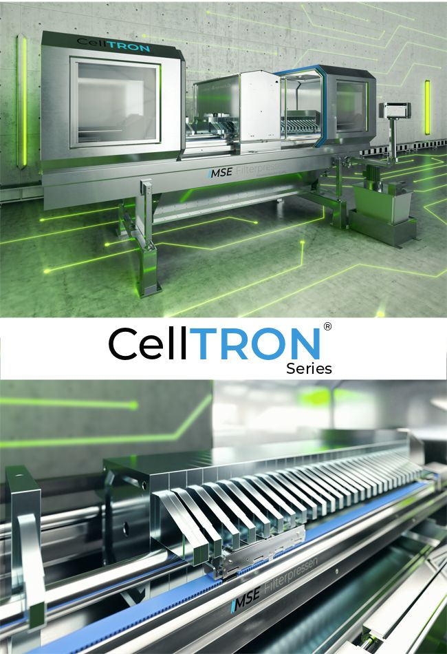 Fully automatic Filter press CellTRON