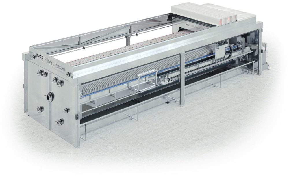 MSE High Performance Filter press