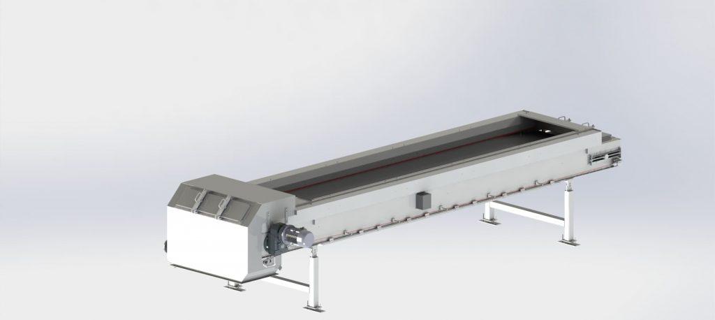 Conveyor belt for filter press
